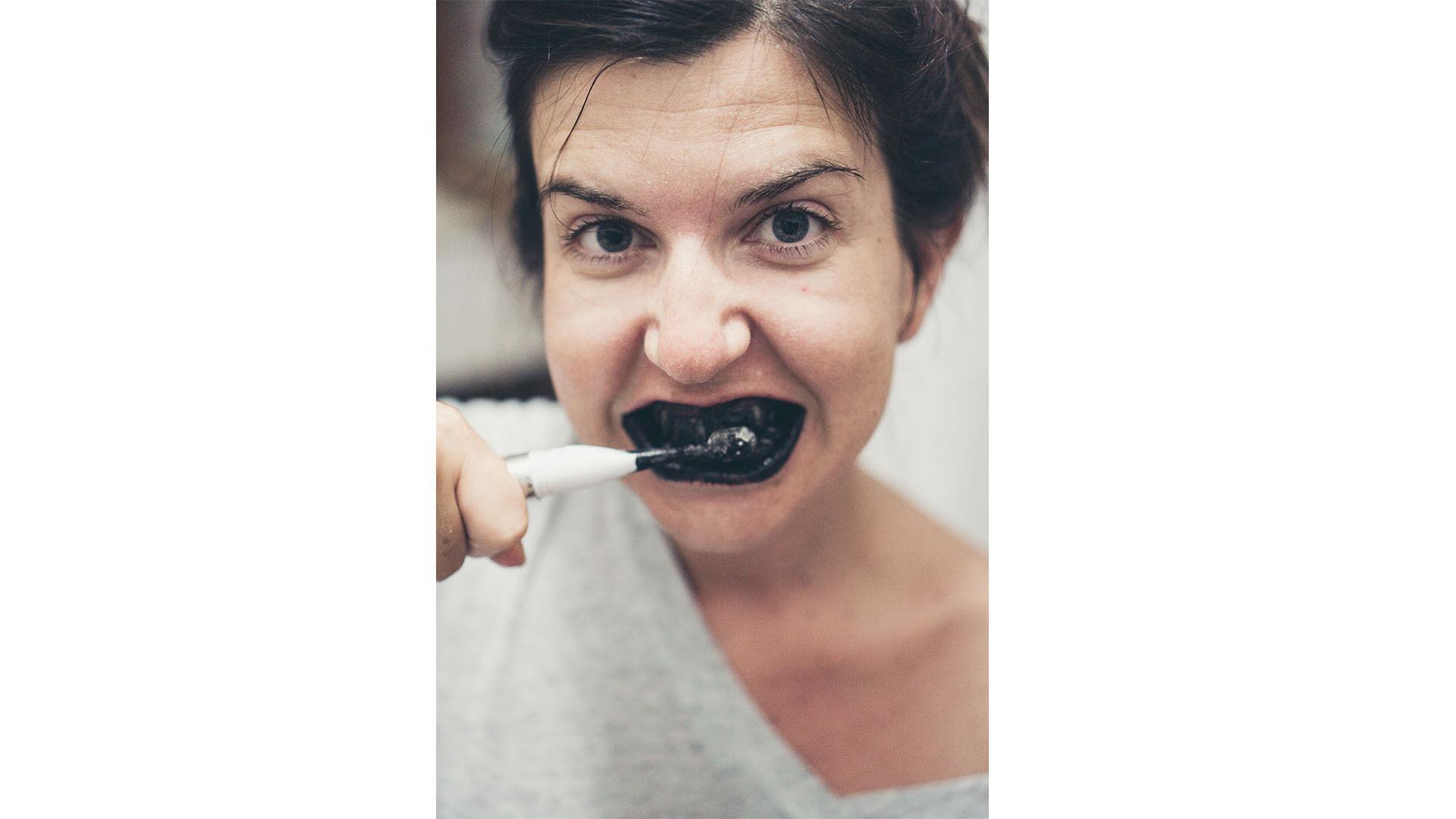 Natuurlijk bleken van de tanden