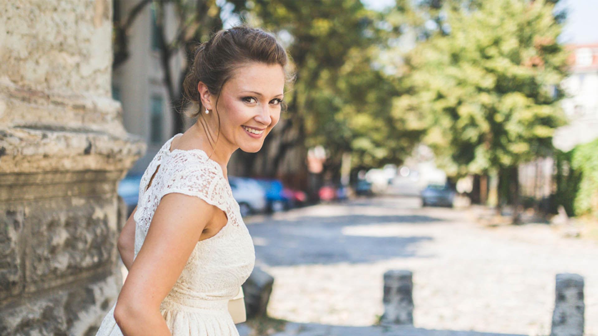 Stralen als bruid